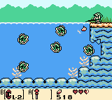 Link's Awakening modded fishing game, with only the bigger fishes